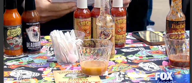 Feel the burn: Testing taste buds with hot sauces Fox & Friends: