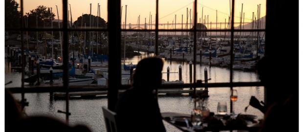 10 Stellar Views in San Francisco: America's Pioneer In Vegetarian Fine Dining, Greens Boasts San Francisco's Closest Restaurant View Of The Golden Gate Bridge Through Floor-to-Ceiling Windows