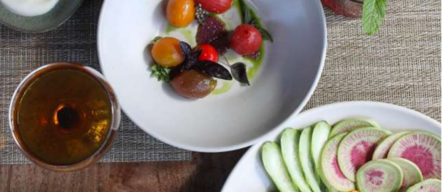 """San Francisco Chronicle's Food Critic Soleil Ho Reviews 40-Year Landmark Greens Restaurant - """"At 40, Greens Is Brighter Than Ever"""""""