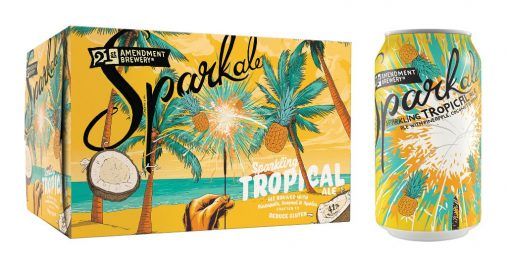 """These New Summer Beers Will Help You Find Some Chill - 21st Amendment Brewery's """"Tropical Sparkale"""""""