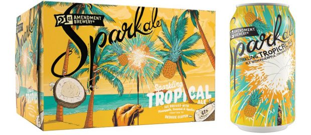 "These New Summer Beers Will Help You Find Some Chill - 21st Amendment Brewery's ""Tropical Sparkale"""
